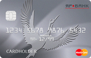ЯР Банк - кредитная карта